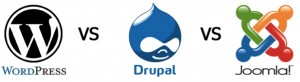 Comparativa WordPress, Joomla y Drupal