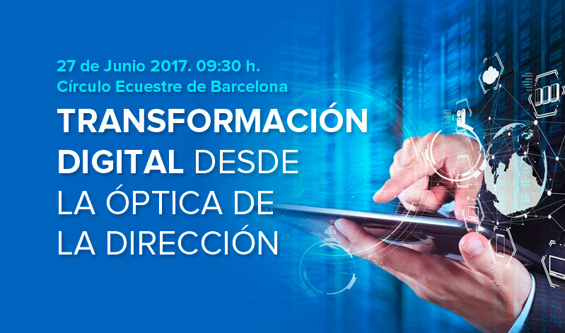Evento sobre transformación digital en Barcelona