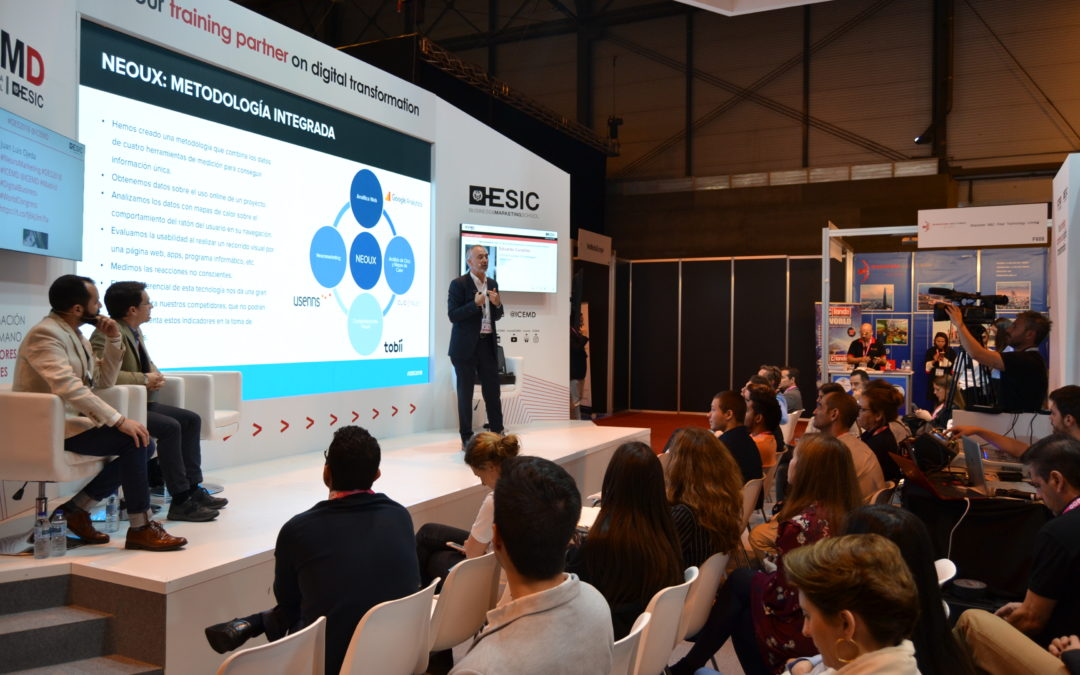 Hablando de Neuromarketing en DES2018